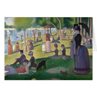 Sunday Afternoon on the Island of La Grande Jatte Note Card