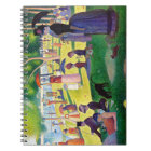 Sunday Afternoon On The Island Of La Grande Jatte Notebook