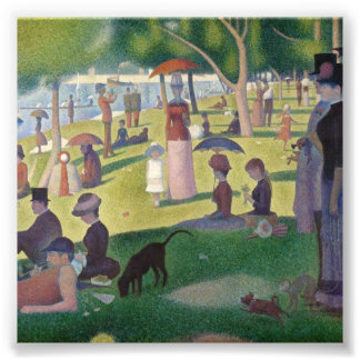 Sunday Afternoon on the Island of La Grande Jatte Photo Art