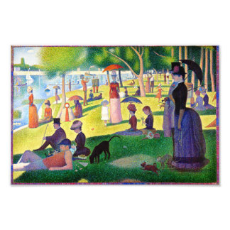 Sunday Afternoon On The Island Of La Grande Jatte Photo Print