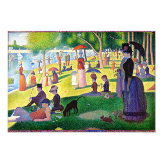 Sunday Afternoon On The Island Of La Grande Jatte Photograph