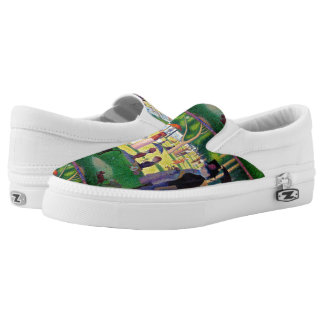 Sunday Afternoon On The Island Of La Grande Jatte Printed Shoes
