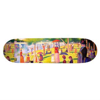 Sunday Afternoon On The Island Of La Grande Jatte Skate Board Deck