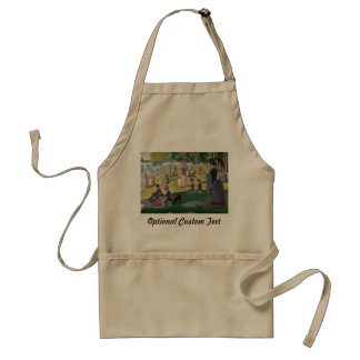 Sunday Afternoon on the Island of La Grande Jatte Standard Apron