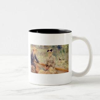 Sunday Berthe Morisot Fine Art Two-Tone Mug