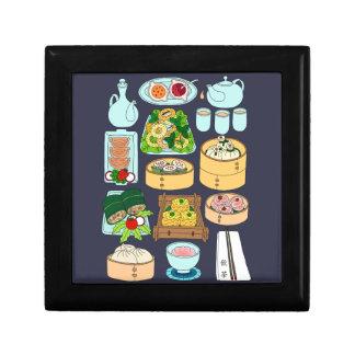 Sunday Dim Sum Small Square Gift Box