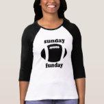 Sunday Funday - black Tees