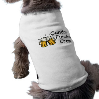 Sunday Funday Crew Beer Shirt