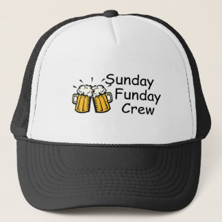 Sunday Funday Crew (Beer) Trucker Hat