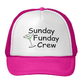 Sunday Funday Crew Martini Cap