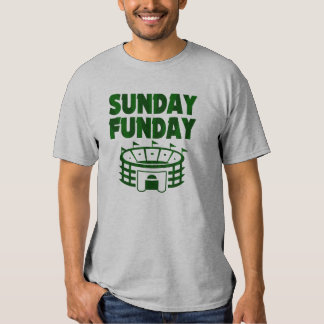 Sunday Funday Funny Football Season Shirt
