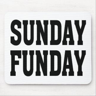 Sunday Funday Mouse Pads