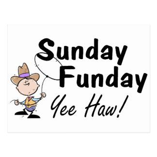 Sunday Funday Yee Haw Postcards
