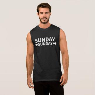 Sunday Gunday Sleeveless Shirt