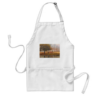 Sunday in the Park (oil on canvas digital simulat) Standard Apron
