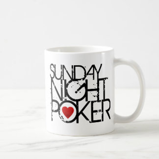Sunday Night Poker Coffee Mug