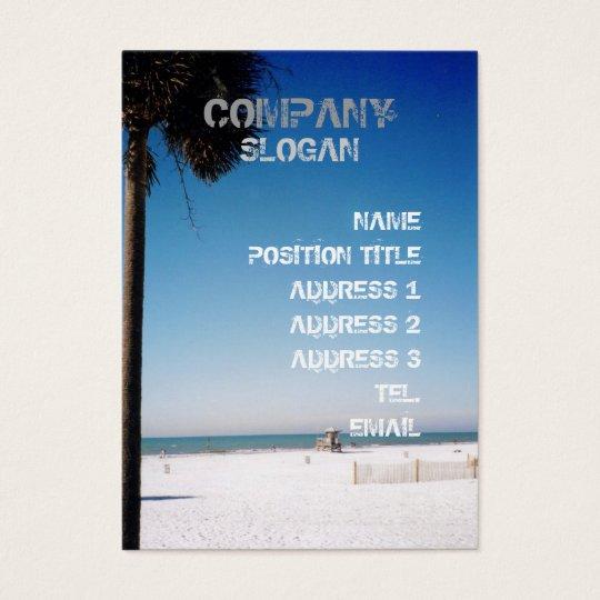 Sunday Palm Business Card