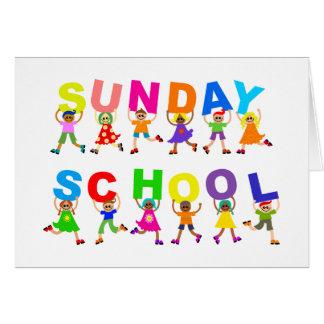 Sunday School Greeting Card