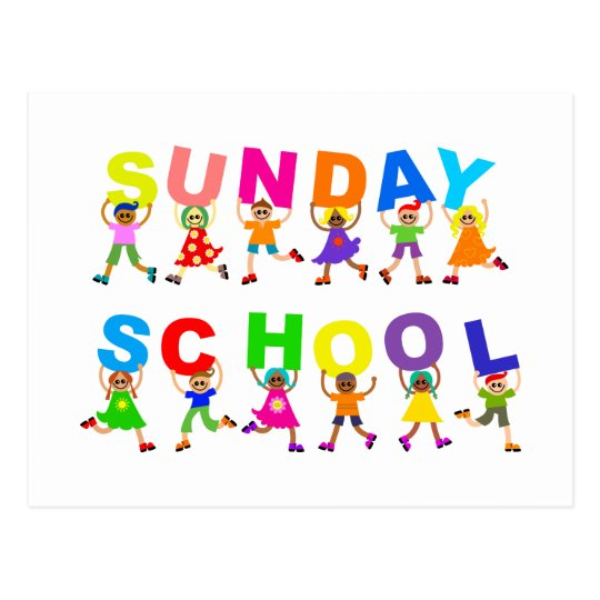 Sunday School Postcard