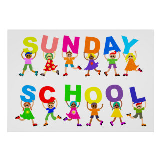 Sunday School Poster