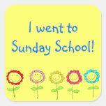 Sunday School Stickers