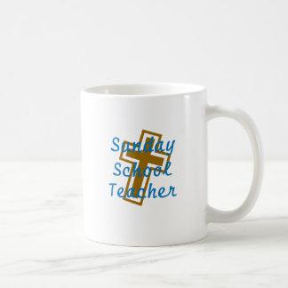 SUNDAY SCHOOL TEACHER CIR LT COFFEE MUG