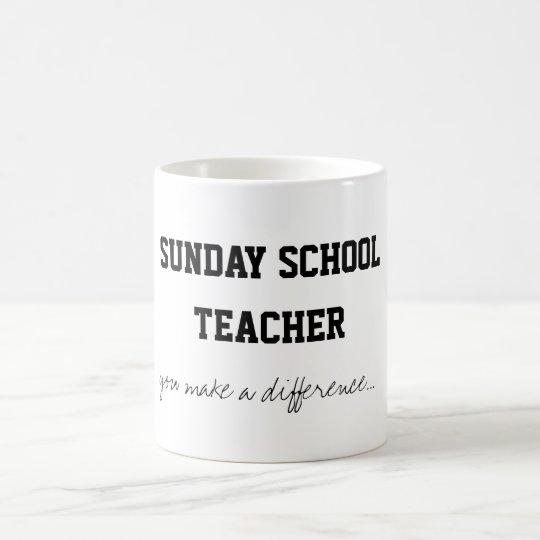 Sunday School Teacher Coffee Mug