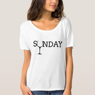 Sunday Wine Tshirt