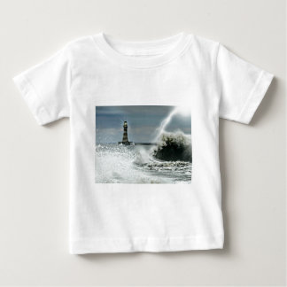 Sunderland - Roker Pier & Lighthouse Baby T-Shirt