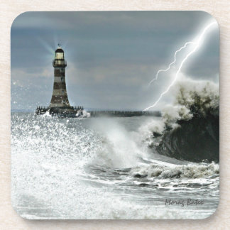 Sunderland - Roker Pier & Lighthouse Beverage Coaster