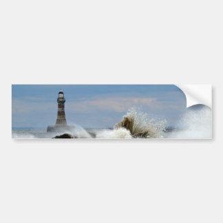 Sunderland - Roker Pier & Lighthouse Bumper Sticker
