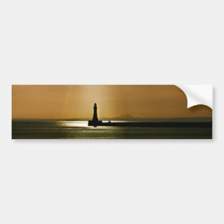 Sunderland - Roker Pier & Lighthouse Bumper Sticker