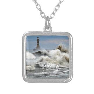 Sunderland - Roker Pier & Lighthouse Personalized Necklace