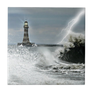 Sunderland - Roker Pier & Lighthouse Tile