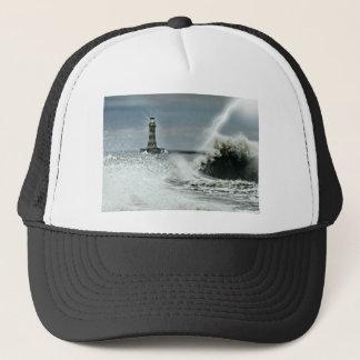 Sunderland - Roker Pier & Lighthouse Trucker Hat