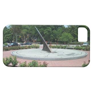 Sundial at Morehead Planetarium, Chapel Hill, NC iPhone 5 Covers