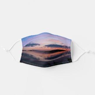 Sundown At Fellows Lake Cloth Face Mask