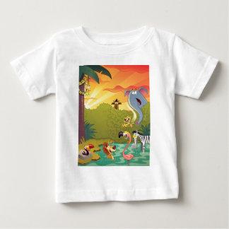 Sundown At The Water Hole Baby T-Shirt