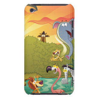 Sundown At The Water Hole Case-Mate iPod Touch Case