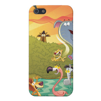 Sundown At The Water Hole iPhone 5 Cover