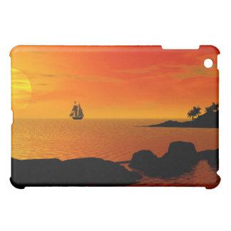 Sundown by the sea  iPad mini cover