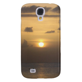 Sundown Fitted Hard Shell Case iPhone 3G/3GS Galaxy S4 Case