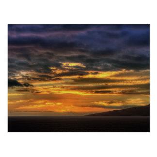 Sundown, Tenerife South Postcard