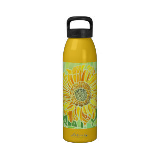 Sunfloower Mosaic Design Liberty Bottle Drinking Bottle