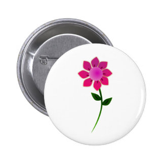 sunflower2_Vector_Clipart 6 Cm Round Badge