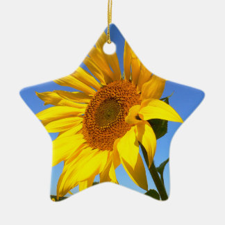 Sunflower 01.1.2rd, Field of Sunflowers Christmas Ornament