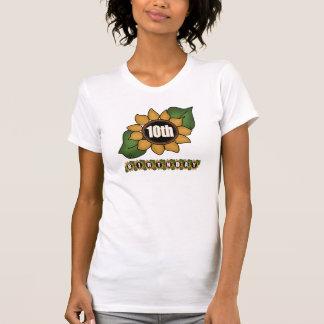 Sunflower 10th Birthday Gifts T-Shirt