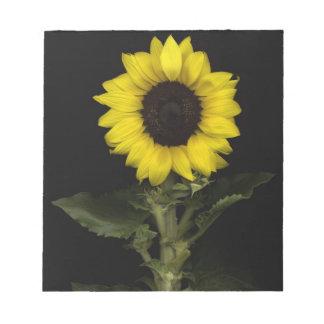 Sunflower 11 notepad