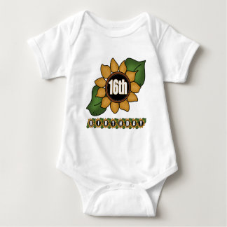 Sunflower 16th Birthday Gifts Tees