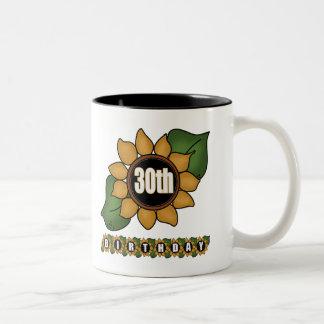 Sunflower 30th Birthday Gifts Mug